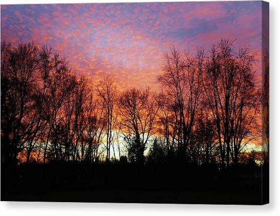 Canvas Print - Sky Of Fire by Red Cross