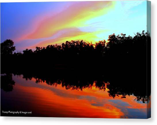 Sky Painting Canvas Print