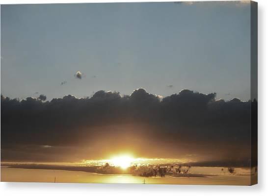 Sky  Canvas Print by Paul Whitney