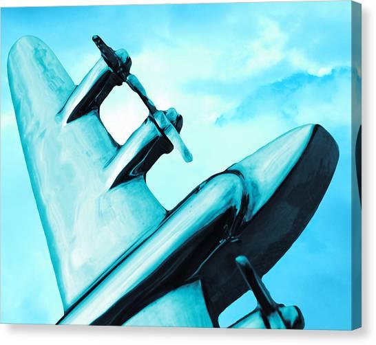 Prop Planes Canvas Print - Sky Plane by Slade Roberts