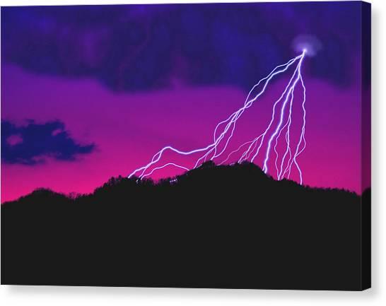 Sky Power Canvas Print