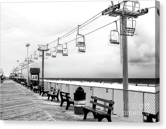 Sky Ride At Seaside Heights Canvas Print