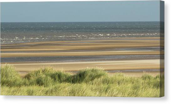 Sky, Sea, Sand, Sod... Canvas Print