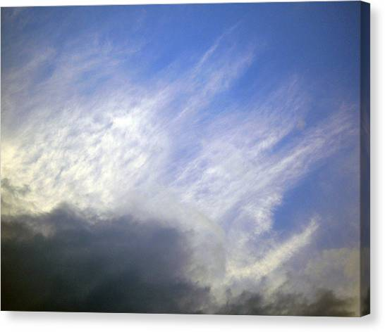 Sky6 Canvas Print by Mikael Gambitt