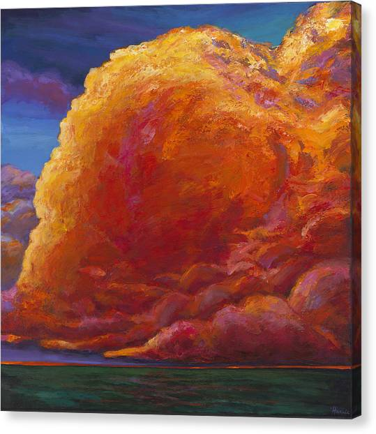 Desert Sunsets Canvas Print - Skydance by Johnathan Harris