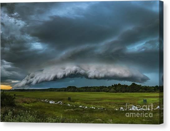 Skyfall Canvas Print by Joshua Blash