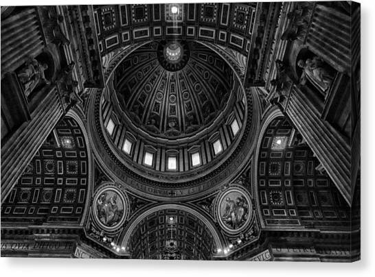 Ceiling Canvas Print - Skylights by C.s.tjandra