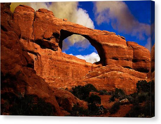 Skyline Arch Canvas Print