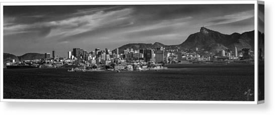 Skyline-centro-rio De Janeiro-brasil Canvas Print