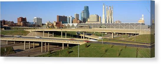 Conference Usa Canvas Print - Skyline, Kansas City, Missouri by Panoramic Images