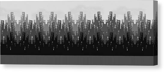 Skyline New York Canvas Print