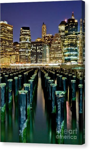 Big East Canvas Print - Skyline Perspective by Az Jackson
