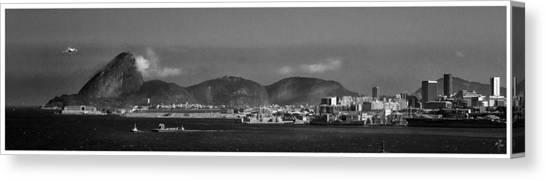 Skyline-rio De Janeiro-aeroporto Canvas Print