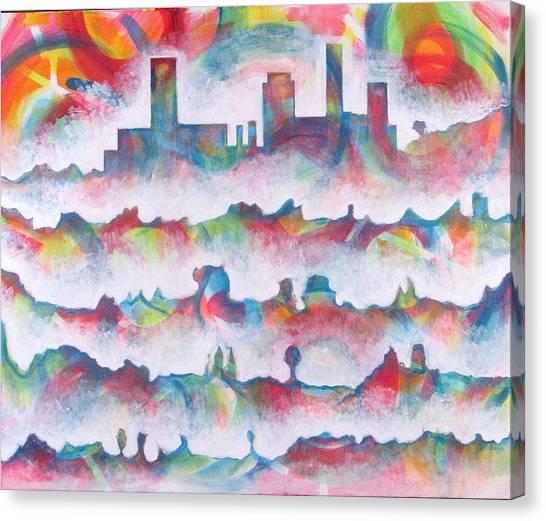 Skyline Canvas Print by Rollin Kocsis