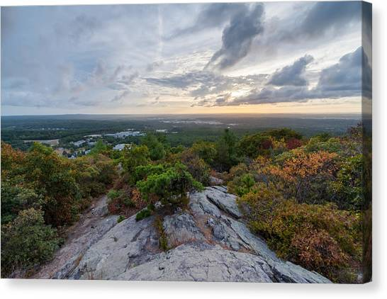 Skyline Trail Vista Canvas Print