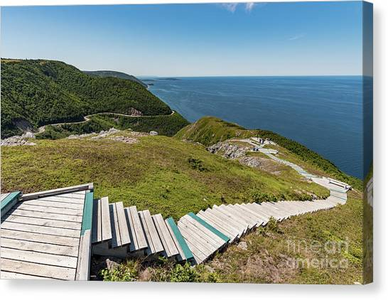 Cabot Trail Canvas Print - Skyline Trail by Zawhaus Photography