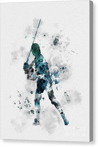 Boba Fett Canvas Print - Skywalker by Rebecca Jenkins