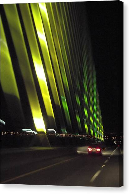 Skyway At Night 5559 Canvas Print