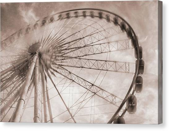 Skywheel In Niagara Falls Canvas Print