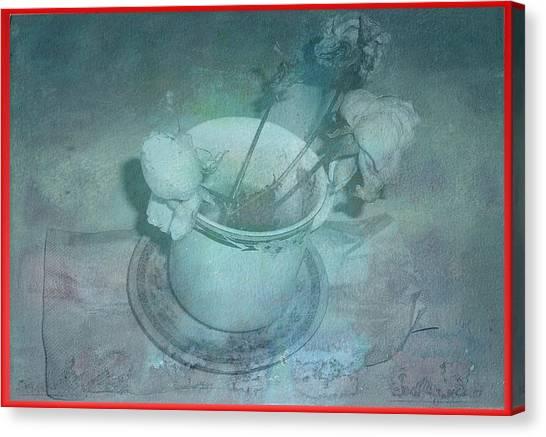 Skyworks 6 Rose Canvas Print by Friedl Aigner