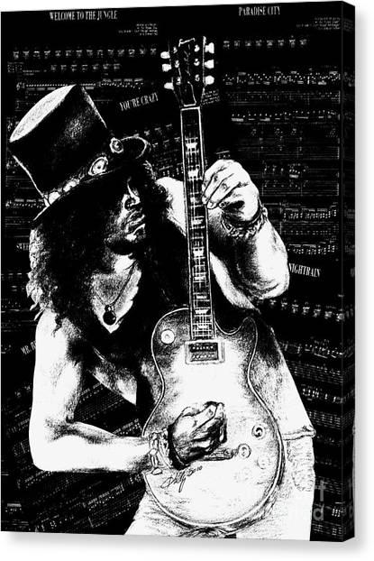 Slash Canvas Print