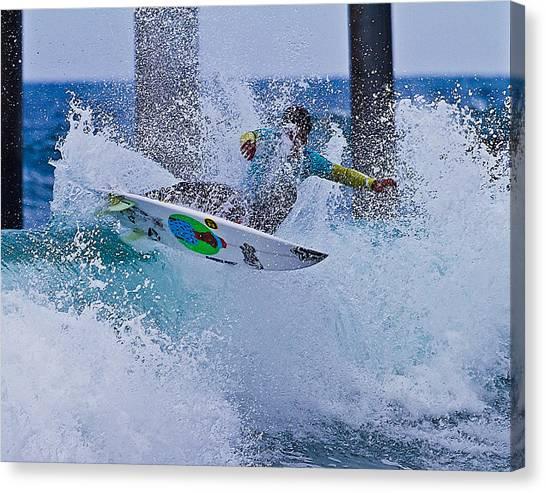 Slash N Splash Canvas Print