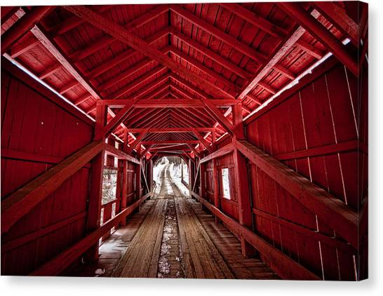 Slaughterhouse Red Canvas Print