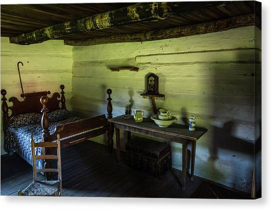 Canvas Print featuring the photograph Slave Quarters - The Hermitage by James L Bartlett