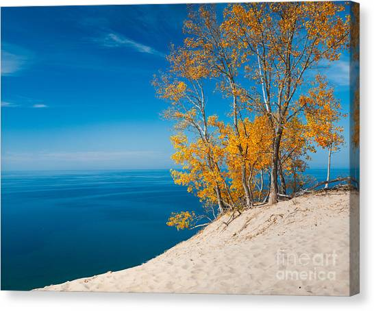 Sleeping Bear Dunes Vista 002 Canvas Print