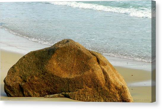 Sleeping Giant At Marthas Vineyard Canvas Print