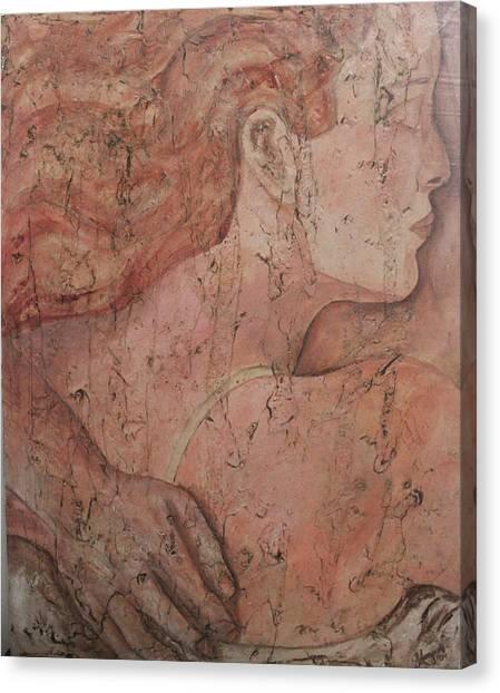 Rennaissance Art Canvas Print - Sleeping by Sarah Mangione-Avon