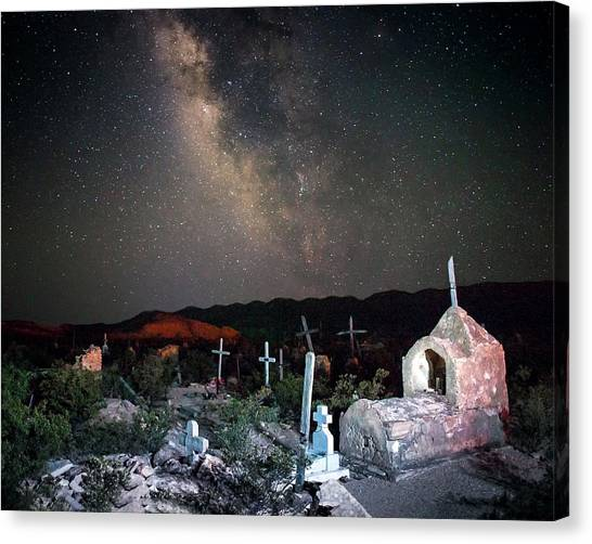 Sleeping Under The Stars Canvas Print