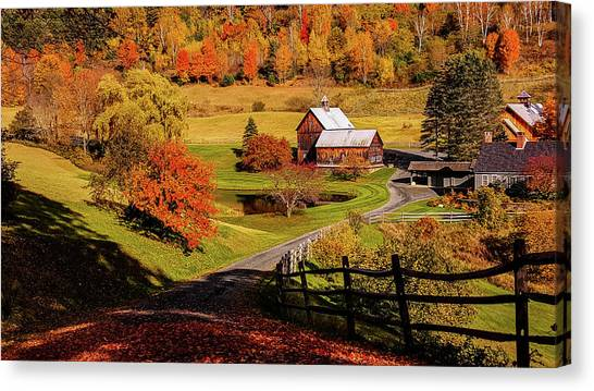 Sleepy Hollow - Pomfret Vermont-2 Canvas Print