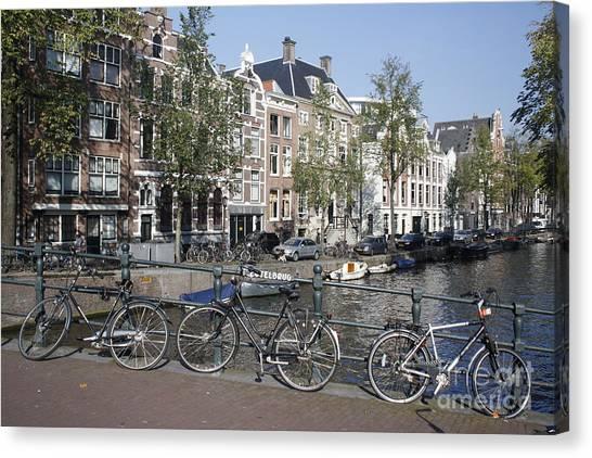Sleutelbrug Amsterdam Canvas Print