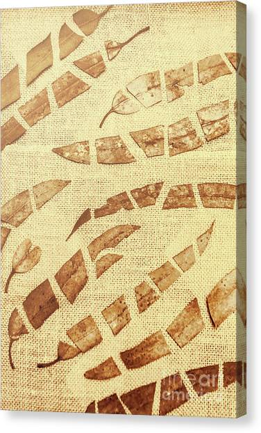 Autumn Leaves Canvas Print - Slices Of Fall by Jorgo Photography - Wall Art Gallery