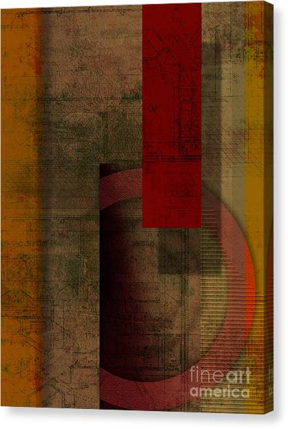 Fuzzy Canvas Print - Slit by Peter Awax
