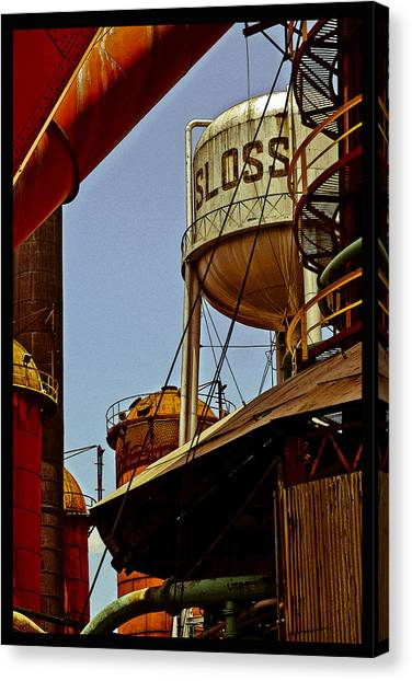 Sloss Poster Canvas Print