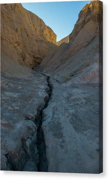 Slot Canyon Within Slot Canyon Canvas Print