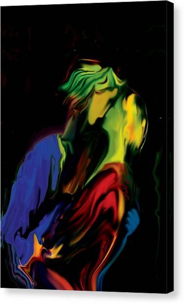 Slow Dance Canvas Print