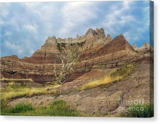 Slow Erosion Canvas Print