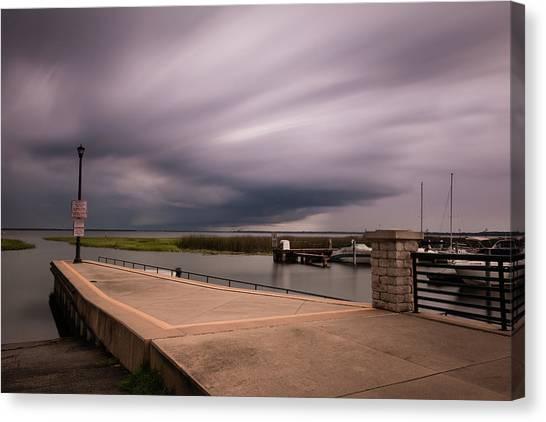 Slow Summer Storm Canvas Print