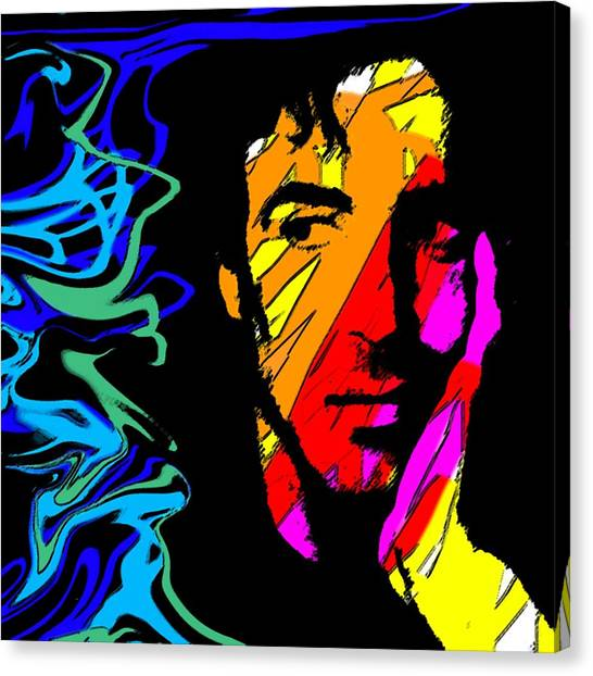 Stallone Canvas Print - Sly Edit by Blind Ape Art
