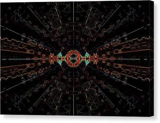 Small Bang Theory Canvas Print by Alan Skonieczny