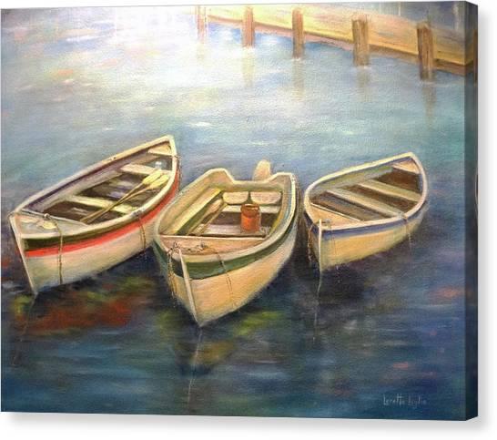 Small Boats Canvas Print