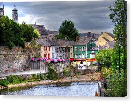 Small Town Ireland Canvas Print