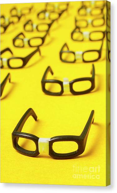 Desks Canvas Print - Smart Contract Dress Code by Jorgo Photography - Wall Art Gallery