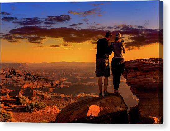 Smartphone Photo Opportunity Canvas Print