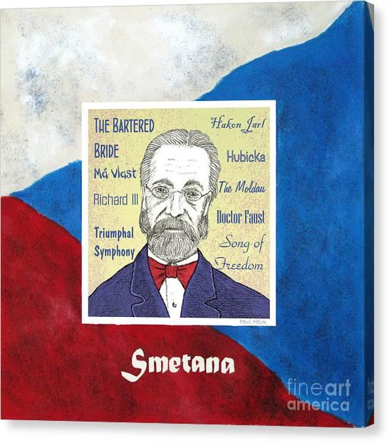 Smetana Canvas Print by Paul Helm
