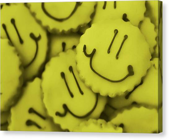 Smiley Face Canvas Print by JAMART Photography