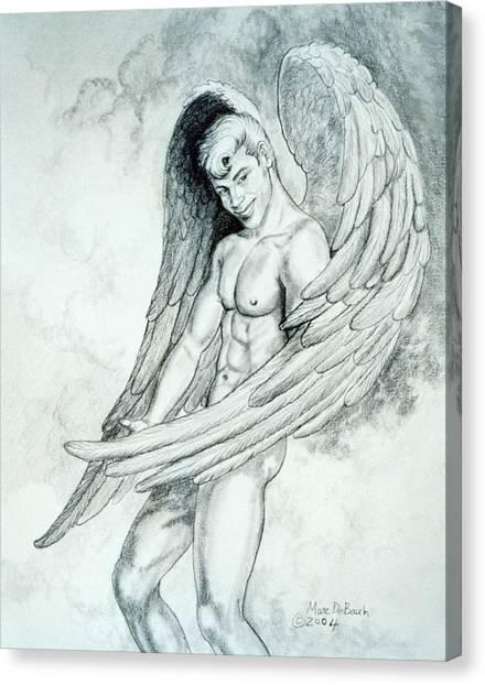 Smiling Angel Canvas Print
